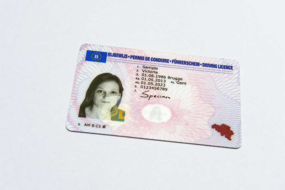 The Belgian driving licence
