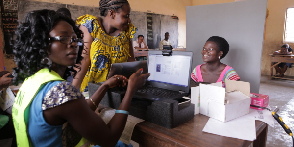 BIOMETRIC VOTER REGISTRATION IN TOGO